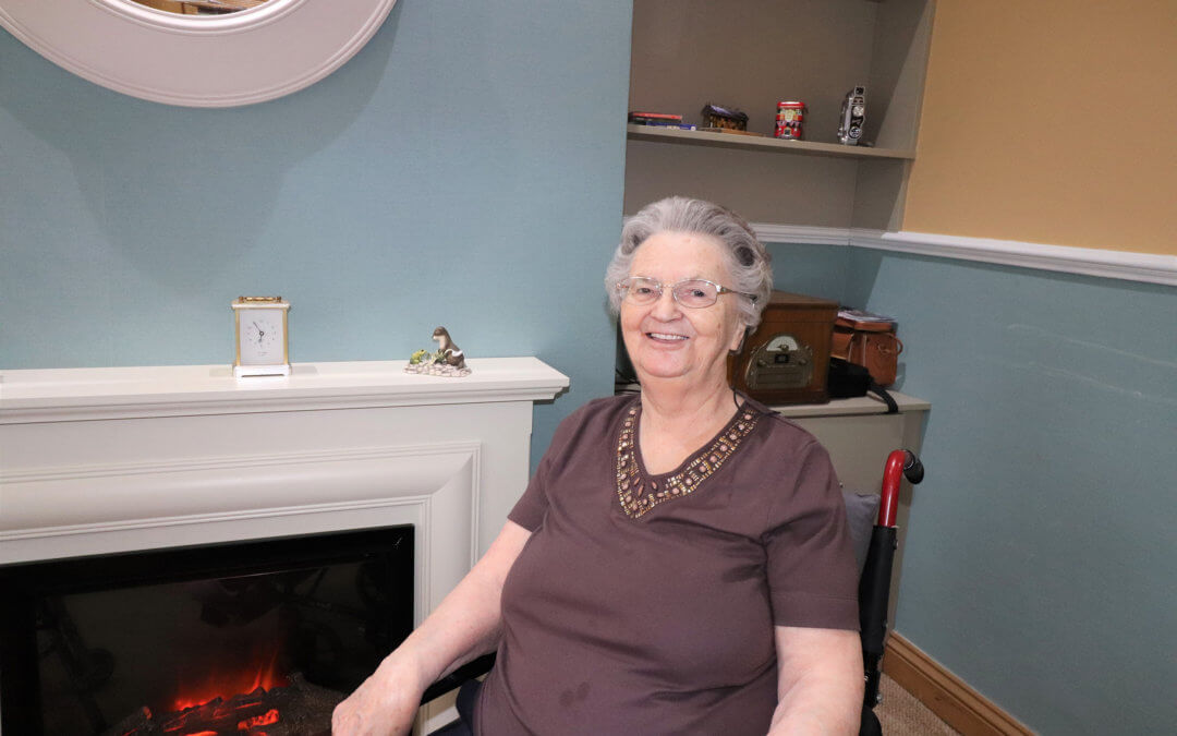 An interview with Dorothy, a lovely resident at Lavender Hills