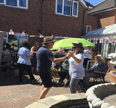 Norley Hall Nursing home hosts garden party in honour of veterans