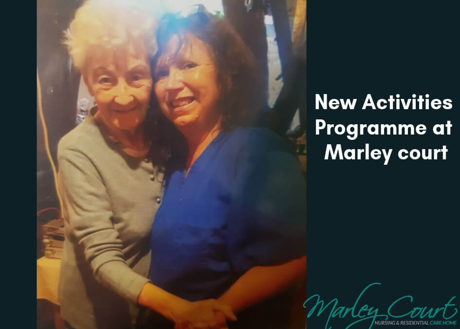 Marley court Nursing home welcome new Activities coordinator