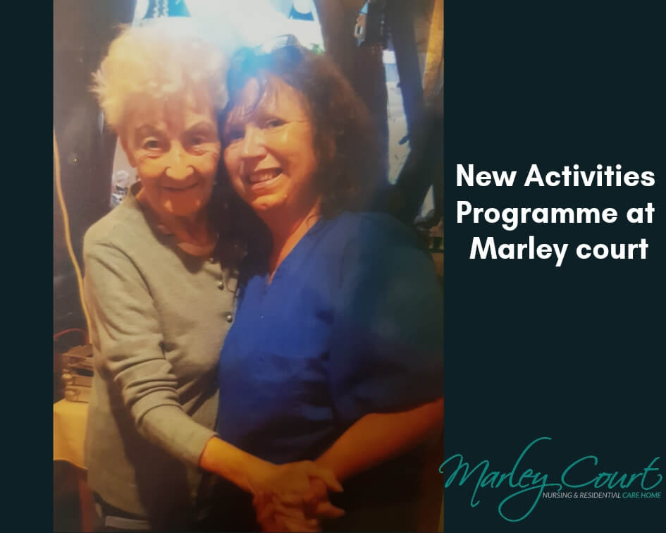 New Activites Coordinator at Marley Court