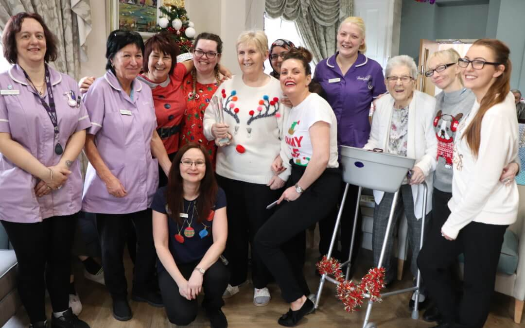Brookdale care home -The Care Team you would ask Santa for.. after winning UK Award