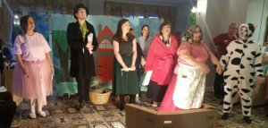 Cast of Jack and the Beanstalk at Marley Court