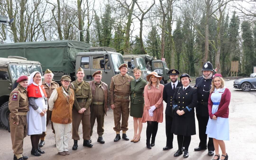 Worthington Lake care home open their doors with 1940's style community celebration