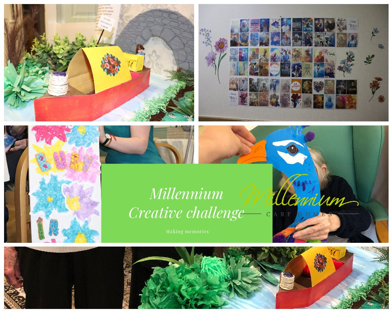 Millennium care homes creative challenge winners 2019