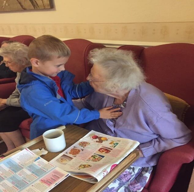 Windsor House have a very special volunteer who makes everybody's day