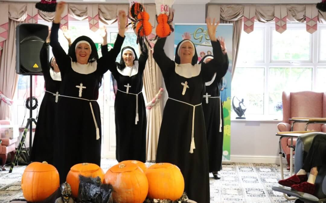 Spectacular Halloween at Marley Court Nursing Home