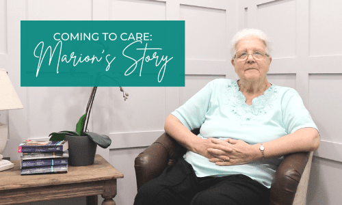 Coming Into Care: Marion's Story